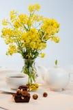 Blumentee Lizenzfreie Stockfotos