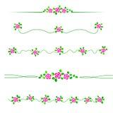 Blumenteiler lizenzfreie abbildung
