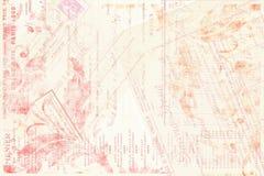 Blumentext Einklebebuch-Hintergrund stockbilder