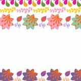 Blumentierkatzenkarte Lizenzfreies Stockfoto