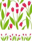 Blumentulpehintergrund vektor abbildung