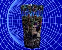 Blumenvase (MG_0002.tif&jpg) Lizenzfreie Stockfotografie