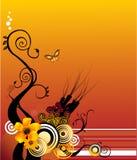Blumenvektor Lizenzfreie Stockfotos
