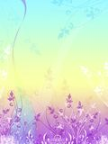 Blumenvektor mögen Hintergrund Stockbild