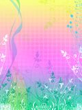 Blumenvektor mögen Hintergrund Lizenzfreie Stockfotografie