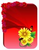 Blumenvektorabbildung Lizenzfreies Stockfoto