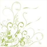 Blumenvektorelement Lizenzfreies Stockfoto