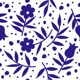 Blumenvektorhintergrund lizenzfreie abbildung