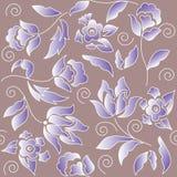 Blumenvektorhintergrund stock abbildung
