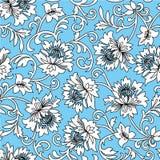 Blumenvektorhintergrund Stockbild