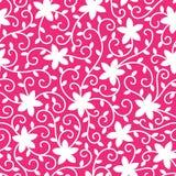 Blumenvektornahtloses Muster Stockfotografie