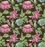 Blumenverzierung Stockbild