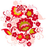 Blumenverzierung Lizenzfreie Stockfotos