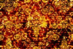 Blumenverzierung Bokeh Hintergrund Stockfoto