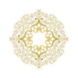 Blumenverzierung in der orientalischen Art Lizenzfreies Stockfoto