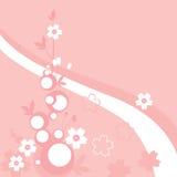 Blumenverzierung - Sakura Stockfotos