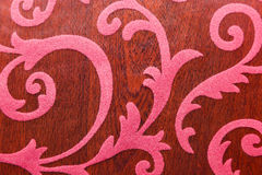 Blumenverzierung, Verzierung in der barocken Art Stockfotografie