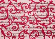 Blumenverzierung, Verzierung in der barocken Art Lizenzfreies Stockfoto
