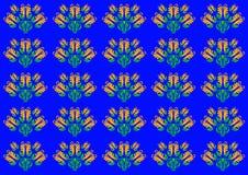 Blumenverzierungen Stockbild