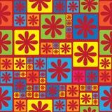 Blumenverzierungs-nahtloses Muster Lizenzfreies Stockfoto