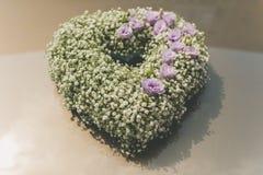 Blumenverzierungsauto Lizenzfreies Stockfoto