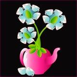 Blumenwaren stock abbildung