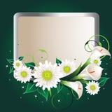Blumenweinlese Stockfotografie