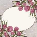 Blumenweinlese-Hintergrund Stockbilder