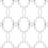 Blumenweinlese-Tapete Lizenzfreies Stockbild