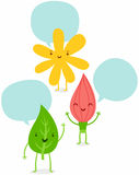 Blumenzeichen Lizenzfreie Stockbilder