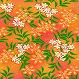 Blumenzeichnung nahtlos lizenzfreie stockfotos