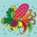 Blumenzusammensetzung des abstrakten Vektors lizenzfreie abbildung