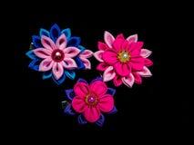 Blumenzusammensetzung mit gestempelschnitten und Scheren, Stockfotografie