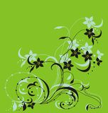 Blumenzweig Lizenzfreie Stockbilder