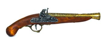 Blunderbuss Pistol Royalty Free Stock Image
