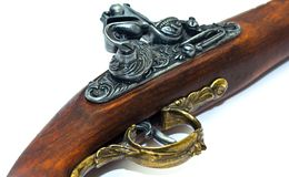 Blunderbuss Pistol Detail Royalty Free Stock Photography