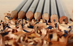 Blunt to sharpness royalty free stock images