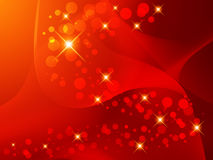 Blur, abstract background, circles of light. Vector illustration Royalty Free Stock Photo