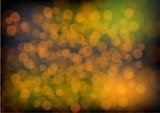 Colorful bokeh vector background.  Royalty Free Stock Image