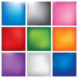 Blur abstract background set Royalty Free Stock Photography