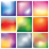 Blur abstract background set Stock Photo