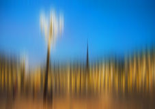 Blur abstract cityscape Royalty Free Stock Image