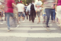 Blur abstract people background Stock Photos