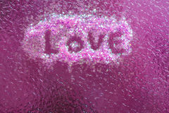 Blur abstract of pink background. Valentine concept Royalty Free Stock Photo