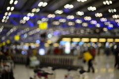 Blur airport terminal Royalty Free Stock Image