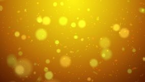 Blur background with bokeh effect, Out of focus background. Colo. Rful lights bokeh on background gold light, background, blur dust motion graphic, Particle Royalty Free Stock Photos