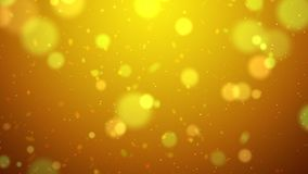 Blur background with bokeh effect, Out of focus background. Colo. Rful lights bokeh on background gold light, background, blur dust motion graphic, Particle Stock Image