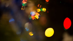 Blur Background. Colorful blur bokeh background lights new year Stock Photography