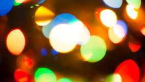 Blur Background. Colorful blur bokeh background lights new year Stock Image