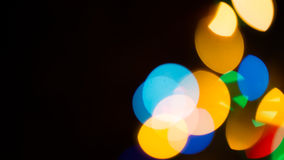 Blur Background. Colorful blur bokeh background lights new year Royalty Free Stock Photo